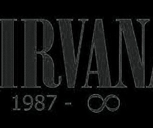nirvana, music, and forever image