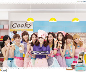 snsd, girls' generation, and 쿠키 image