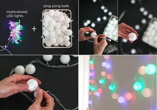 diy, lights, and cute image