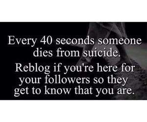 sad, suicide, and depression image