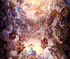 beautiful, ceiling, and church image