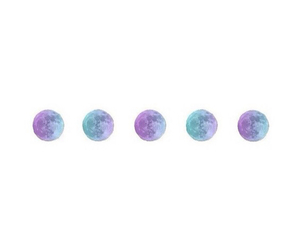 color, moon phases, and overlay image