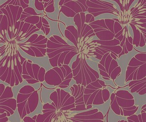 flowers, pattern, and purple image
