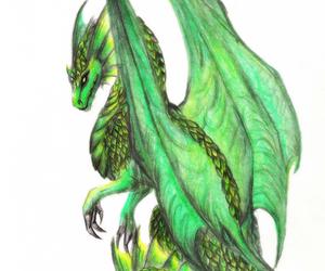 dragon and green image
