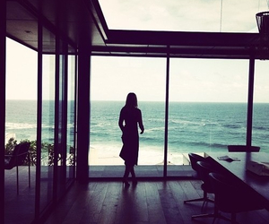 girl, luxury, and ocean image