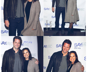 peter hermann and mariska hargitay image