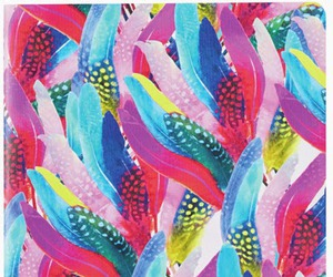 bright, feathers, and seamless image