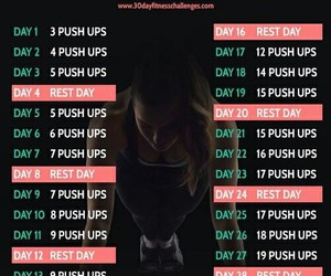 fitness, challenge, and workout image