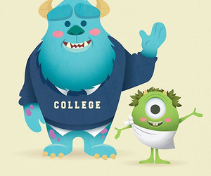 monsters inc, monsters university, and friends image