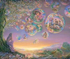 art, bubbles, and josephine wall image