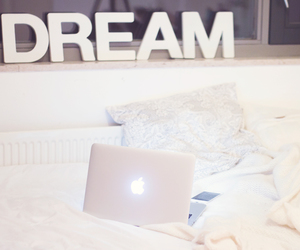 apple, bed, and Dream image