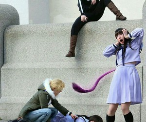 noragami and cosplay image