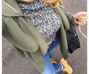 style, timberland, and selfie image