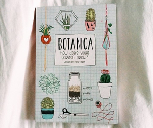 plants, book, and botanical image