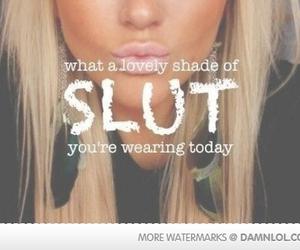 slut, blonde, and girl image