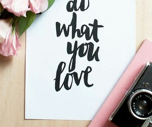 inspiration, true, and do what you love image