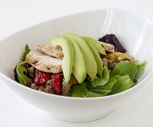 healthy, salad, and fitness image