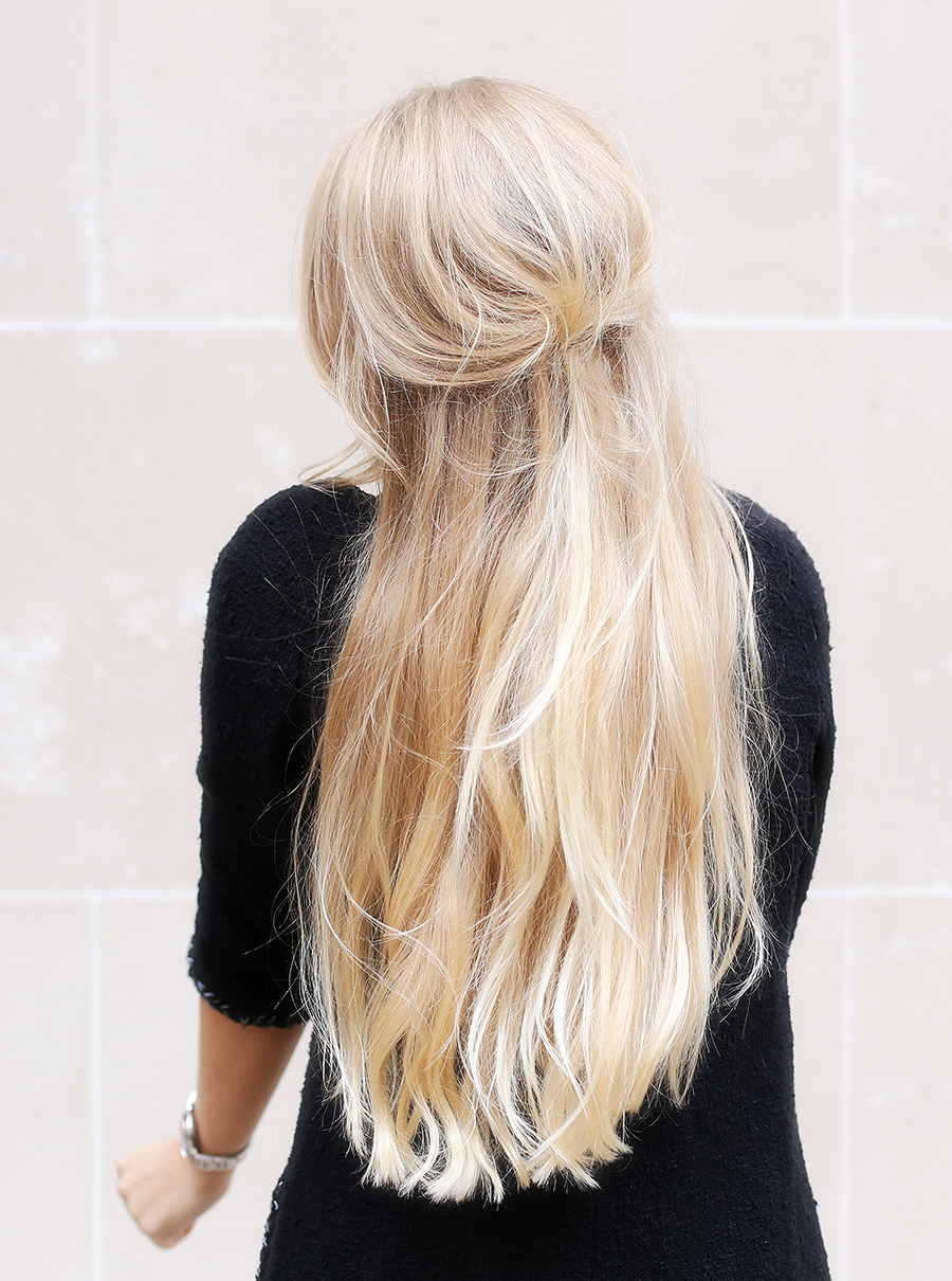 blond, long, and fashion image