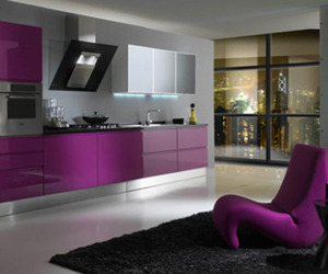 kitchen and purple image