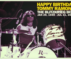 happy birthday, tommy ramone, and punk rock image