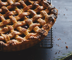 apple, crust, and pie image