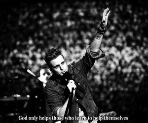 black and white, god, and Lyrics image