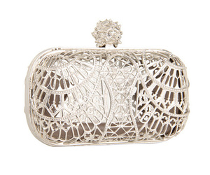 Alexander McQueen, clutch, and fashion image