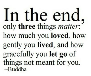 Buddha, in the end, and let go image