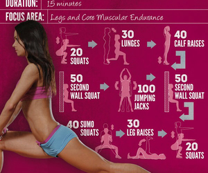 fitness and leg workout image
