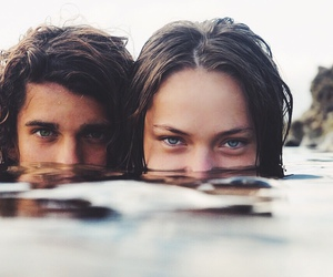 couple, love, and eyes image