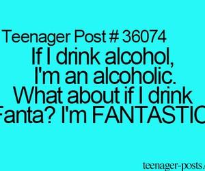 fanta, funny, and alcohol image