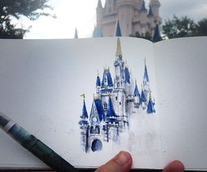 drawing, art, and disney image