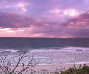 beach, pale, and pastel image