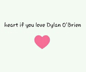 dylan o brien and love image