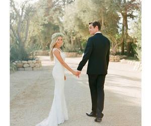 ashley tisdale, wedding, and couple image