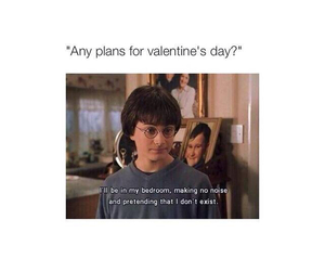 harry potter, funny, and valentine image