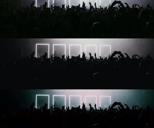 concert, grunge, and lights image