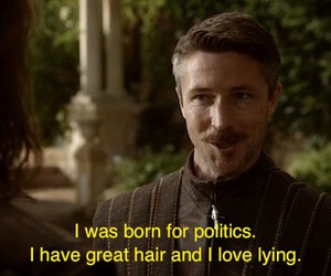 politics, game of thrones, and petyr baelish image