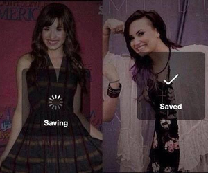 demi lovato, saved, and strong image