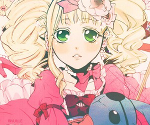 lady, pink, and cute~ image