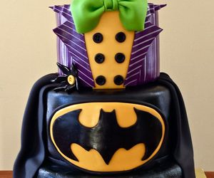 batman, birthday cake, and cake image