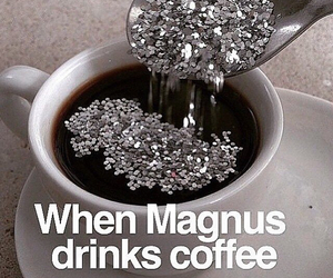 coffee, magnus bane, and the mortal instruments image