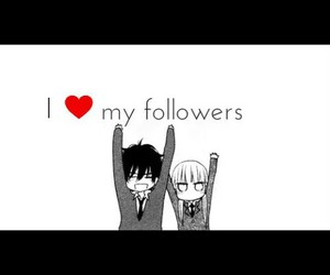 ily, i love my followers, and ty image