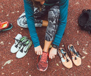 nike, running, and trainers image