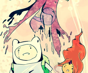 JAKe, adventure time, and finn the human image