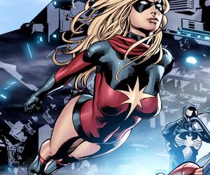 Marvel, ms marvel, and carol danvers image