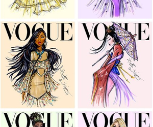 disney princess, hayden williams, and vogue magazin image