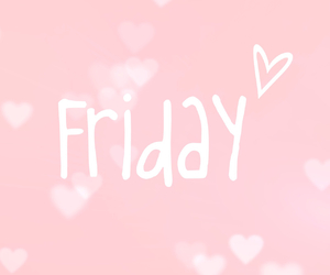 friday, life, and pink image