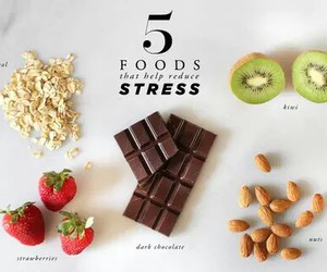 food, healthy, and stress image