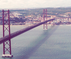 bridge, portugal, and travel image
